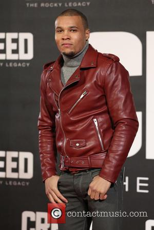 Chris Eubank Jnr - Creed The Rocky Legacy UK premiere held at the Empire - Arrivals - London, United Kingdom...
