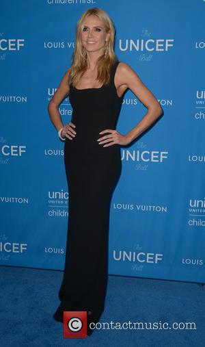 Heidi Klum - 6th Biennial UNICEF Ball at the Beverly Wilshire Four Seasons Hotel - Arrivals at Beverly Hilton -...