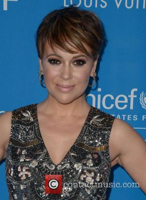 Alyssa Milano - 6th Biennial UNICEF Ball at the Beverly Wilshire Four Seasons Hotel - Arrivals at Beverly Hilton -...