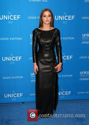 Adele Exarchopoulos - 6th Biennial UNICEF Ball at the Beverly Wilshire Four Seasons Hotel - Arrivals at Regent Beverly Wilshire...