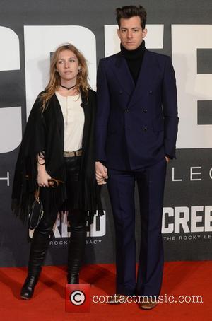 Mark Ronson , Jessica de la Baume - 'Creed: The Rocky Legacy' UK Premiere - Arrivals - London, United Kingdom...