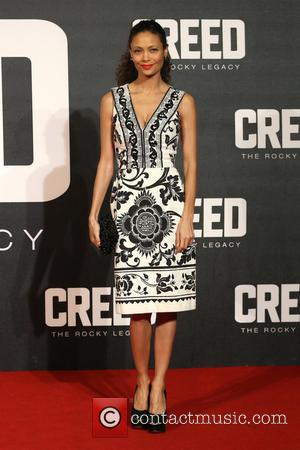 Thandie Newton - Creed The Rocky Legacy UK premiere held at the Empire - Arrivals - London, United Kingdom -...