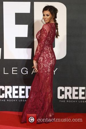 Jessica Wright - Creed The Rocky Legacy UK premiere held at the Empire - Arrivals - London, United Kingdom -...