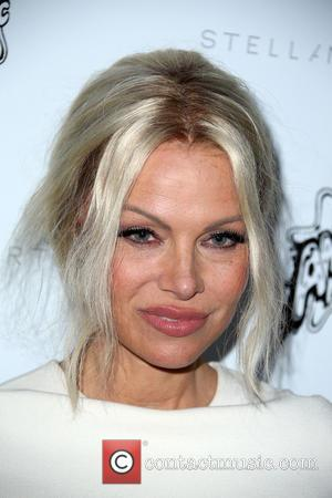 Pamela Anderson - Stella McCartney Autumn 2016 Collection Event held at Amoeba Music Hollywood at Amoeba Music - Hollywood, California,...
