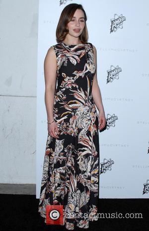 Emilia Clarke - Stella McCartney Autumn 2016 Collection Event held at Amoeba Music Hollywood at Amoeba Music Hollywood - Los...