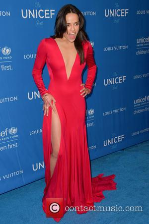 Michelle Rodriguez - 6th Biennial UNICEF Ball at the Beverly Wilshire Four Seasons Hotel - Arrivals at Beverly Hilton -...
