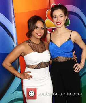 Monica Raymund and Marina Squerciati