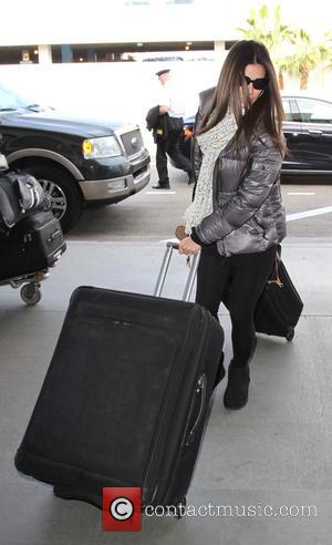 Roselyn Sánchez , Roselyn Sanchez - Roselyn Sánchez at Los Angeles International Airport (LAX) - Los Angeles, California, United States...