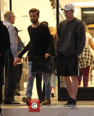 Scott Disick - Scott Disick shopping at Barneys New York at beverly hills - Los Angeles, California, United States -...