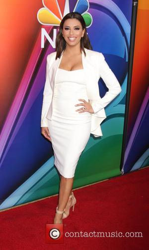 Eva Longoria - 2016 Winter TCA Tour - NBCUniversal Press Tour at Langham Hotel - Arrivals at Langham Huntington Hotel...
