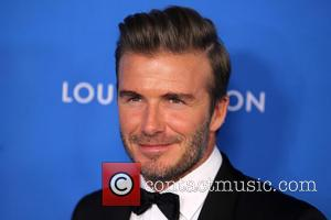 David Beckham - 6th Biennial UNICEF Ball at the Beverly Wilshire Hotel - Arrivals at Beverly Hills - Los Angeles,...