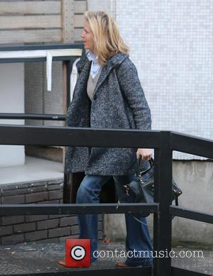 Penny Lancaster - Penny Lancaster outside ITV Studios - London, United Kingdom - Wednesday 13th January 2016