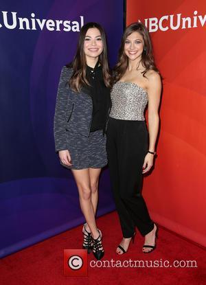 Miranda Cosgrove and Mia Serafino