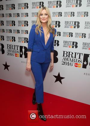 Laura Whitmore - Brit Awards 2016 - Nominations at the ITV studios at ITV Studios, Brit Awards - London, United...