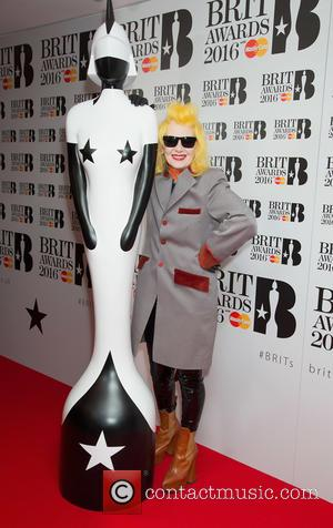 Pam Hogg - Brit Awards 2016 - Nominations at the ITV studios at ITV Studios, Brit Awards - London, United...