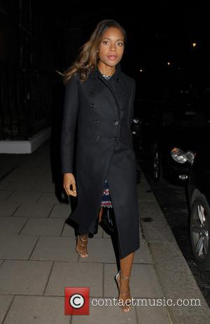 Naomie Harris - Lady Garden x Chopard - VIP Gala at Claridge's - London, United Kingdom - Thursday 14th January...