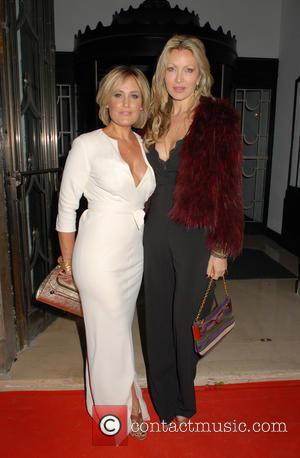 Mika Simmons and Caprice Bourret