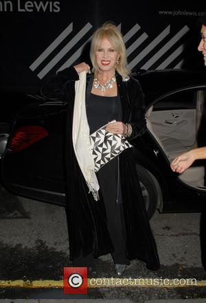 Joanna Lumley - Lady Garden x Chopard - VIP Gala at Claridge's - London, United Kingdom - Thursday 14th January...