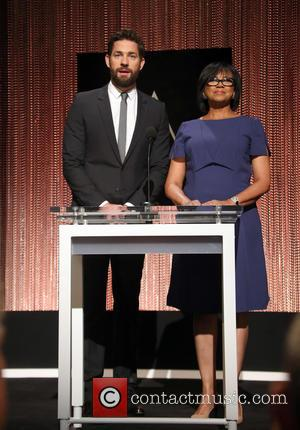 John Krasinski , Cheryl Boone Isaacs - 88th Oscars Nominations Announcement at Beverly Hills, Oscars - Academy Of Motion Picture...