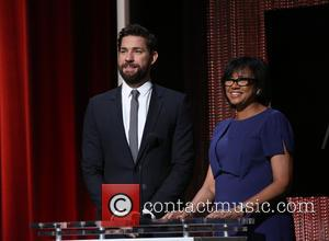 John Krasinski , Cheryl Boone Isaacs - Celebrities announce the nominees during the 88th Academy Awards Nominations Announcement at AMPAS...