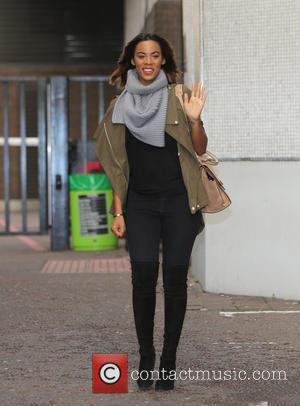 Rochelle Humes - Rochelle Humes outside ITV Studios - London, United Kingdom - Thursday 14th January 2016