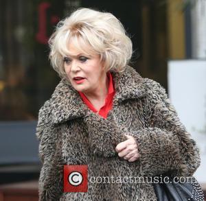Sherrie Hewson - Sherrie Hewson outside ITV Studios - London, United Kingdom - Thursday 14th January 2016