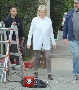Martha Stewart - Martha Stewart at Universal Studios Hollywood for an appearance on 'Extra' at Universal Studios Hollywood - Los...