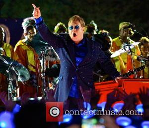 Elton John Had A Lovely Day At School Reunion