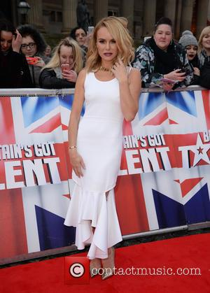 Amanda Holden - Amanda Holden Red Carpet arrivals for Britain's Got Talent at The Liverpool Empire, Lime St, Liverpool at...