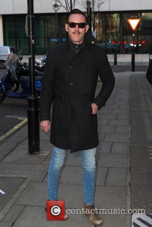 Laurence Fox - Laurence Fox arriving at the BBC Radio 2 studios at BBC Western House - London, United Kingdom...