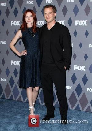 Chloe Dykstra and Robert Kazinsky