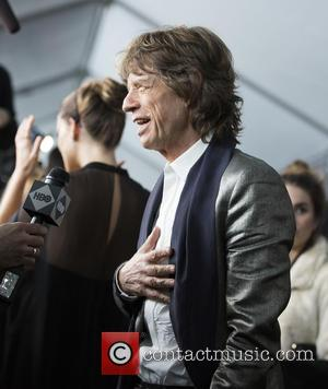 Mick Jagger - New York premiere of 'Vinyl' at Ziegfeld Theatre - Arrivals at Ziegfeld Theater - New York, New...