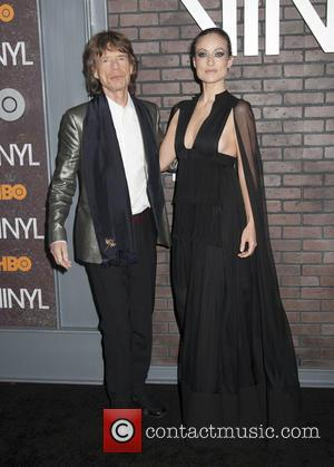 Mick Jagger and Olivia Wilde