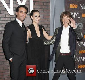 Bobby Cannavale, Olivia Wilde and Mick Jagger