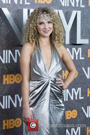 Juno Temple - New York premiere of 'Vinyl' at Ziegfeld Theatre - Arrivals at Ziegfeld Theater - New York, New...