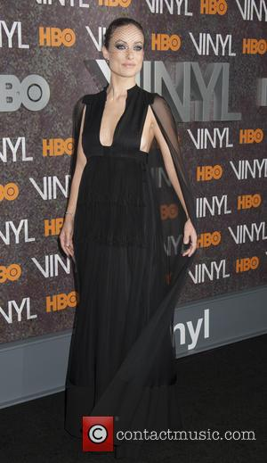 Olivia Wilde - New York premiere of 'Vinyl' at Ziegfeld Theatre - Arrivals at Ziegfeld Theater - New York, New...