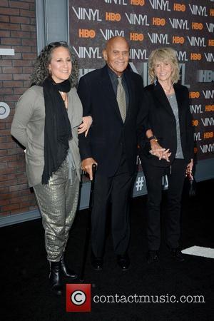 Gina Belafonte and Harry Belafonte