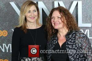 Edie Falco and Aida Turturro