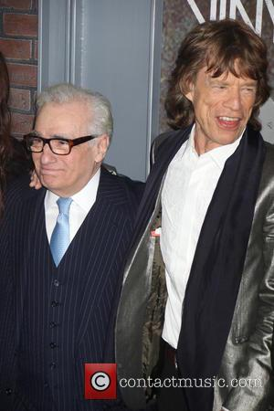 Mick Jagger and Martin Scorsese