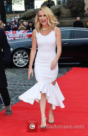 Amanda Holden - Liverpool auditions for 'Britain's Got Talent' - Arrivals at Empire Theatre, Britain's Got Talent - Liverpool, United...
