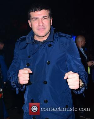 TAMAR HASSAN - Celebrities attend the fight between David Haye and Mark de Mor at the O2 London - London,...