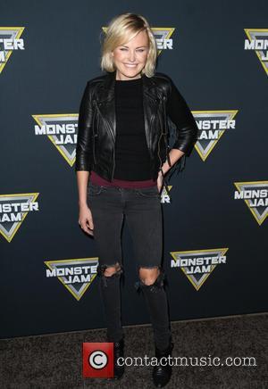 Malin Akerman - Monster Jam Celebrity Night held at Angel Stadium of Anaheim at Angel Stadium of Anaheim - Anaheim,...
