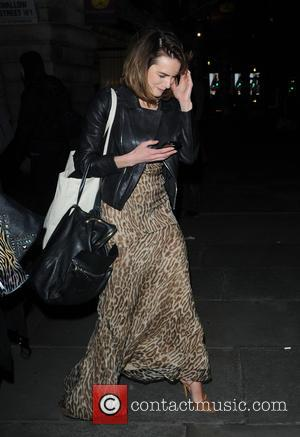 Kara Tointon - Kimberly Walsh seen celebrating her Hen Night in London with former Girls Aloud band members, Cheryl Cole...