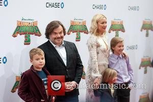 Samuel Black, Jack Black, Kate Hudson, Ryder Robinson and Bingham Bellamy