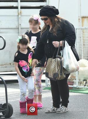 Carnie Wilson, Lola Sofia Bonfiglio and Luciana Bella