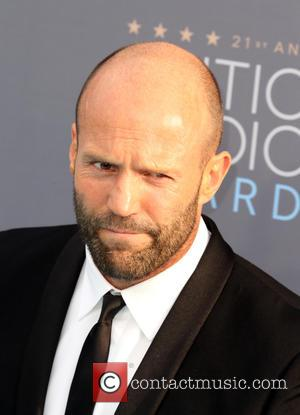 Jason Statham - 21st Annual Critics' Choice Awards - Arrivals at Barker Hangar, Critics' Choice Awards - Santa Monica, California,...