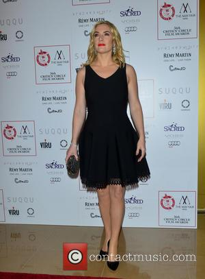 Kate Winslet - 36th London Critics' Circle Film Awards held at the Mayfair Hotel - Arrivals - London, United Kingdom...