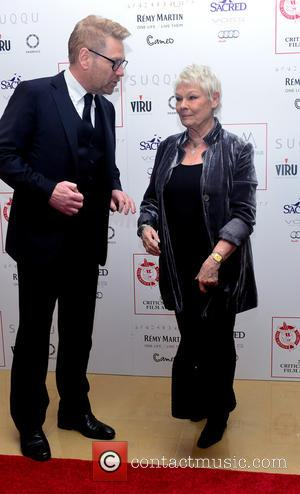 Kenneth Branagh , Dame Judi Dench - 36th London Critics' Circle Film Awards held at the Mayfair Hotel - Arrivals...
