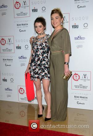 Maisie Williams and Florence Pugh