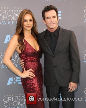 Lisa Ann Russell and Jeff Probst